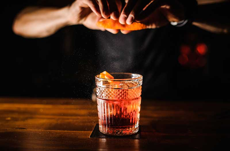 Catering Drinks Highline Negroni