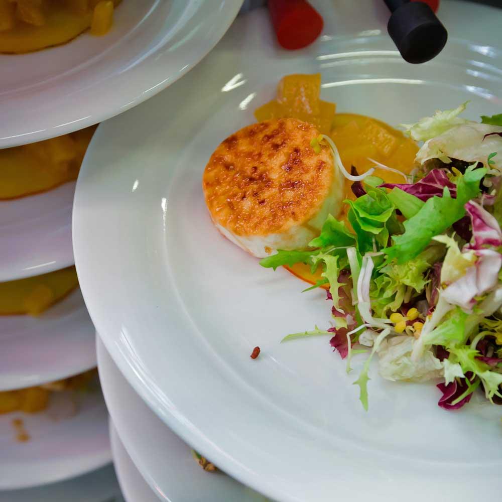 Catering HIGHLINE Food Ziegenkäse